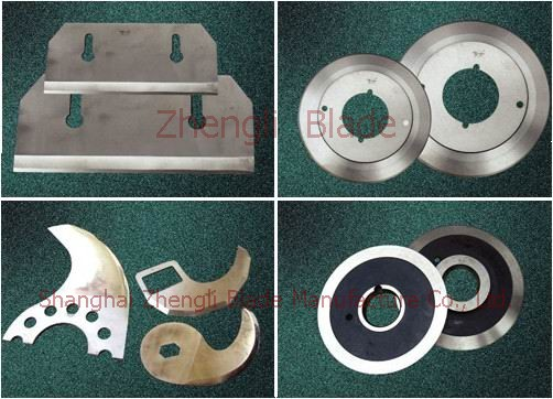 Bissau Longitudinal section of upper and lower circular blade, cutting blade, upper and lower round-cut knife j1b6mm