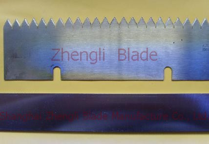 Abilene Serrated knife, double trimming machine of reciprocating tooth knife, serrated blade printing a78scb