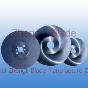 Perthshire Multi row saw blade, grinding blade and crush tablets, monolithic finger milling cutter 285iw6
