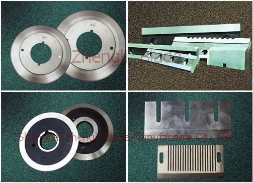 Spain Paper mill paper cutting cutting tool, seaweed roll automatic cutting knife, cut stone blade s053do