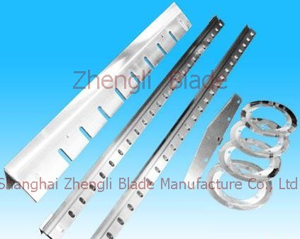 Song Shan Feed crusher toothed blade, plastic blade, cutting machine blade akdggl