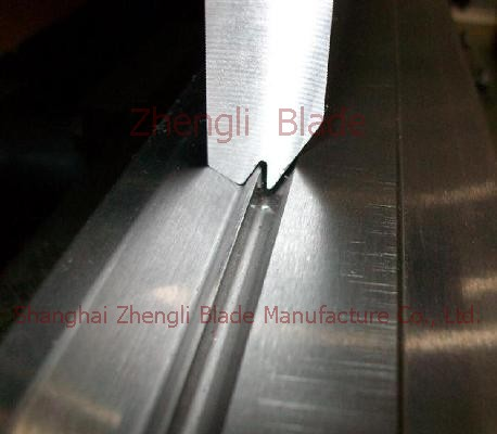 Prague Cutting plate machine under the knife mold, 100 super bending machine die, limiting guide rail bpntyk